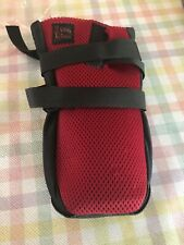 NEW Ultra Paws Durable Dog Boots Red/ & Black Size Large Washable Reusable Wound
