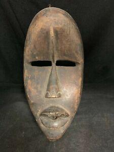 African Tribal Art Dan Mask Vintage