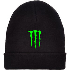 Monster Energy Beanie - Black Hat - FREE UK DELIVERY