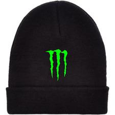 MONSTER Energy Cappello Beanie-nero-consegna gratuita nel Regno Unito