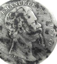 Firenze (Vittorio Emanuele II-Re Eletto) 1 Lira 1860-RR.