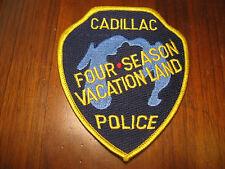 CADILLAC MICHIGAN POLICE PATCH (FOUR SEASON VACATION LAND)