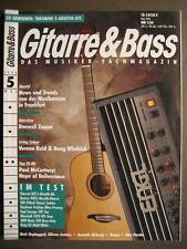 GITARRE & BASS 1993 # 5 - DWEEZIL ZAPPA VERNON REID DOUG WIMBISH PAUL McCARTNEY
