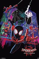 "SPIDER-MAN: INTO THE SPIDER-VERSE - MARVEL COMICS MOVIE POSTER 11""x17"" PHOTO"