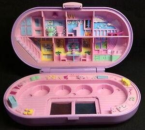 Polly Pocket Mini 💛  1992 - Stampin' School Playset stempel schule