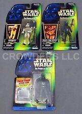 Star Wars PotF Freeze Frame Darth Vader Holo Sandtrooper & Death Star Gunner '97