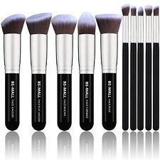 Set De Brochas Kabuki Sintéticas Para Aplicación De Maquillaje Profesional