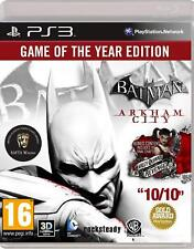 PS3 Juego Batman Arkham City Goty Game Of The Year Edition Producto Nuevo