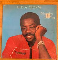 "USED! Ruddy Thomas ""When I've Got You"" LP Vinyl Record-F"