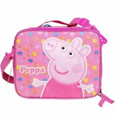 E-ONE Peppa Pig Lunch Bag with Strap