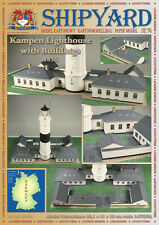 Shipyard 74: Leuchtturm Kampen + Nebengebäude 1:87 (H0) mit Lasercutteilen