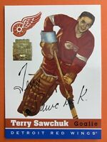 2002 Topps O-Pee-Chee Reprints #69 Terry Sawchuk Detroit Red Wings