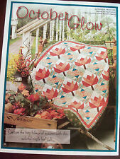 OCTOBER GLOW QUILT PATTERN - PIECED - BY MICHELE CRAWFORD