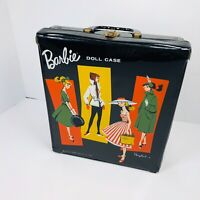 1961 Rare Vintage Barbie Carrying Case featuring ponytail in back by Mattel (W)