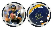DAN FOUTS / SAN DIEGO CHARGERS  - GOLF BALL MARKER / POKER CHIP ***SIGNED***