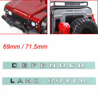 1/10 RC Metal LAND ROVER & DEFENDER Logo Sticker for Traxxas TRX4 RC4WD D110 D90