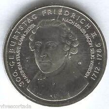 Alemania 10 Euros 2012 A 300 aniversario Friedrich II