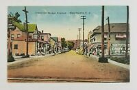 Postcard Diamond Bridge Avenue Hawthorne New Jersey Old Cars