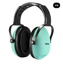 Mpow Kids Safety Ear Defenders, tiffany green. Brand news in box.