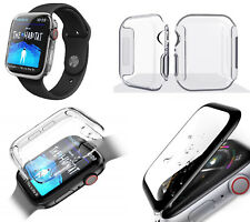 Full Gel Silicone TPU Screen Protector Case Cover For Apple Watch Series 6 SE 5