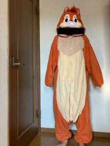 Disney Dale costume Halloween Cosplay Chip and Dale Stage clothes Used Japan