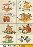 Mouseloft Stitchlets 'In The Woods' Cross Stitch Kits - Choice of 8 Characters