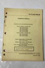 TM 9-2320-266-20 ARMY Maint MANUAL TRUCK M880 -885 M890 - 892 M886 M893 M888