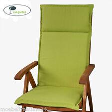 Auflagen für Hochlehner Sessel SUN GARDEN Esdo 50234-211 in grün Sesselauflagen