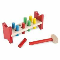 Melissa And Doug Classic Wooden Toy Pound A Peg NEW