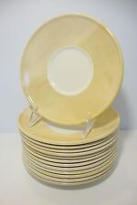 Crate & Barrel ORCHID China Set of 12 Saucer Plates