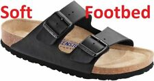 BIRKENSTOCK real  LEATHER or Birkoflor Upper ,Gizeh or Arizona Black 4vthz4t675