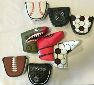 ODYSSEY PUTTER HEAD COVERS - DIFFERENT STYLES