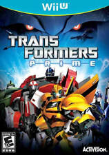 Transformers Prime: The Game Wii-U New Nintendo Wii U, Wii U