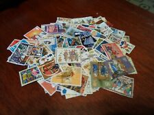 Collection lot 100 different British Christmas stamps