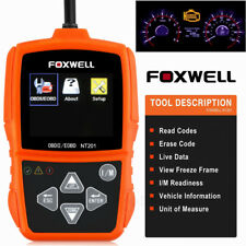 Foxwell OBD2 EOBD Car Fault Code Reader Scanner Diagnostic Auto Engine Scan Tool