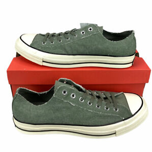 NEW Converse Chuck 70 Ox Vintage Lichen Green Egret Shoes Sneakers Mens Size 13
