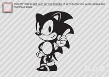 (2x) Sonic the Hedgehog Sticker Die Cut Decal Self Adhesive Vinyl