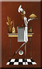 Single Light Switch Plate Cover - Sassy Chef 1