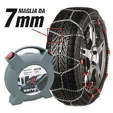 CATENE NEVE 7mm PEWAG SERVO SP. AUTO NON CATENABILE RSS74 VW SHARAN 215/55 R16