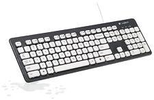Wireless Logitech Washable Waterproof Keyboard Fingerboard K310 for Windows PC
