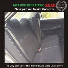 TOP MITSUBISHI PAJERO REAR NEOPRENE WATERPROOF ANTI-UV WETSUIT CAR SEAT COVER