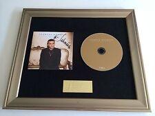 SIGNED/AUTOGRAPHED JAHMENE DOUGLAS - LOVE NEVER FAILS FRAMED CD PRESENTATION.