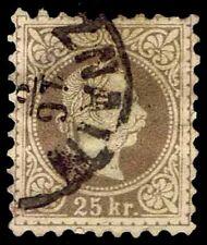 1878 Austria #39 Austro-Hungarian - Fine Print - Used - F/Vf - $190.00 (E#2223)