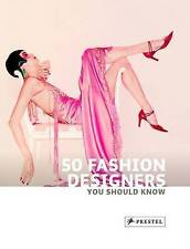 50 Fashion Designers You Should Know (50 You Should Know)-ExLibrary