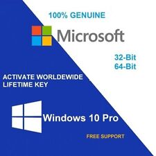 ORIGINAL WINDOWS 10 PRO 32/64-BIT GENUINE LICENSE KEY