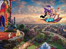 THOMAS KINKADE DISNEY DREAMS COLLECTION JIGSAW PUZZLE ALADDIN 750 PCS #2903-7