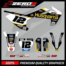 HUSQVARNA TC 50 2017 - 2018 Motocross MX Gráficos Kit Completo SE1 negro