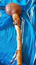 Vintage Tribal Dance Stick Made from Twisted and carved wood