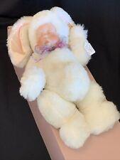 Lee Middleton Original Bye Baby Bunting Porcelain Face Stuffed Bunny Doll #495