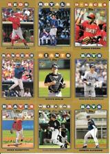 2008 Topps Gold Parallel Insert Set Lot of (23) Different See List & Scan